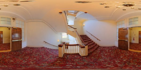 Mt. Washington Staircase 01 360 degree panoramic photography image and map for 3D rendering.