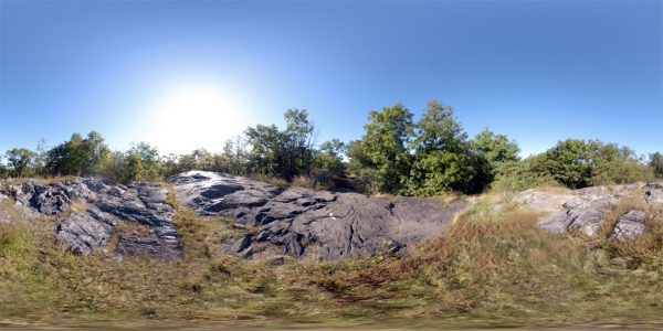 Middlesex Fells 01 360 Degree Equirectangular Panoramic Map for 3D rendering.