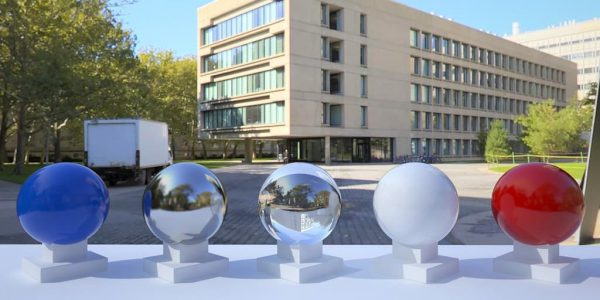 3D HDR rendering and photo image of MIT 01.