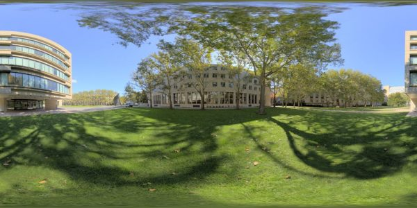 MIT 02 360 degree panoramic photography image and map for 3D rendering.