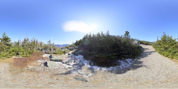 Mount Washington 4 Meters 01 360 degree panoramic photography image and map for 3D rendering.