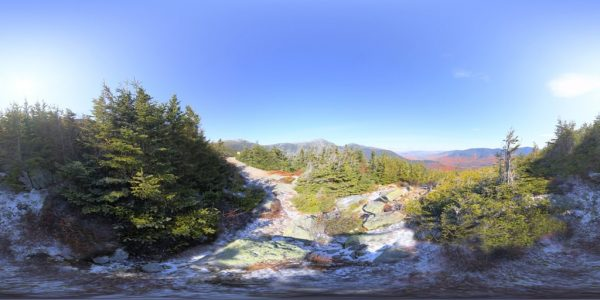 Mount Washington 4 Meters 02 360 degree panoramic photography image and map for 3D rendering.