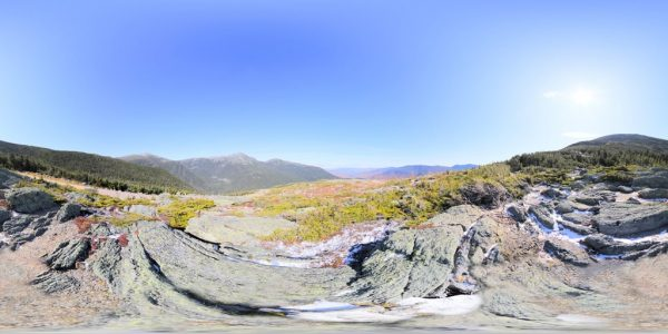 Mount Washington 4 Meters 05 360 degree panoramic photography image and map for 3D rendering.