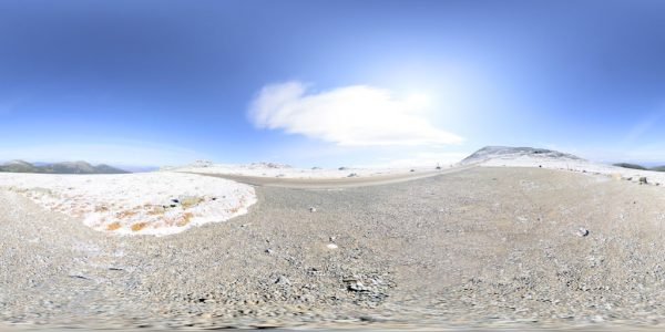 Mount Washington 8 Meters 02 360 degree panoramic photography image and map for 3D rendering.