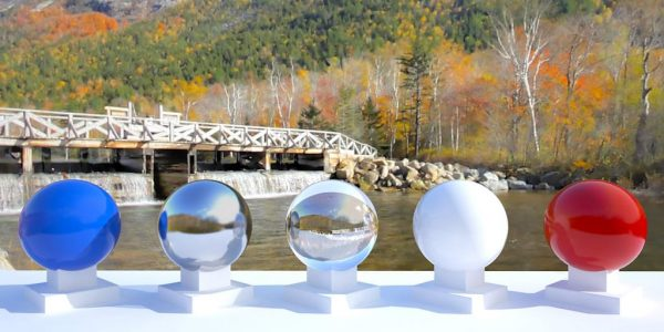 3D HDR rendering and photo image of Mt. Washington Foot Bridge 02.