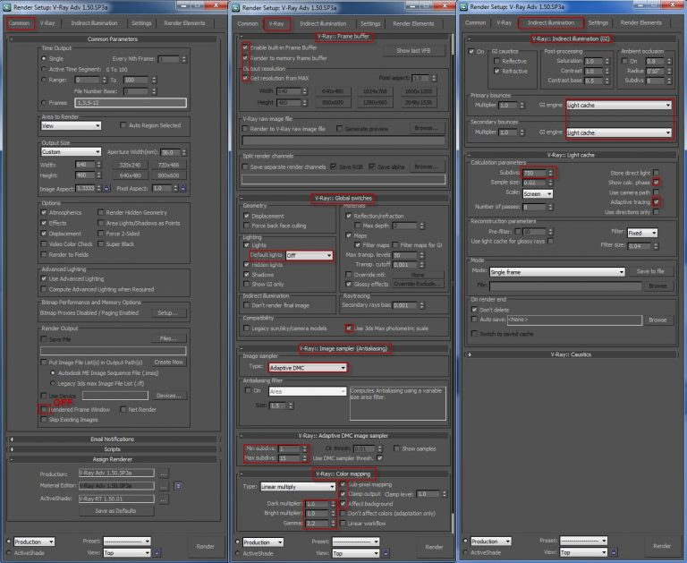 Vray Settings For 3ds Max Pdf Download Kindldoodle